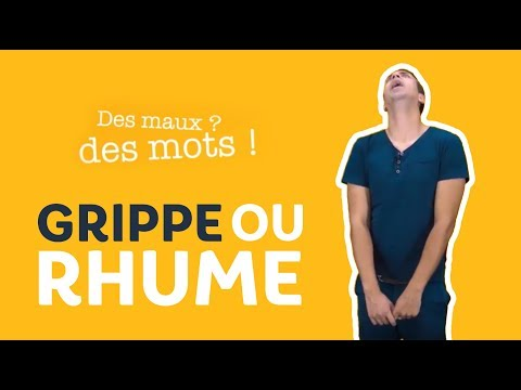 Grippe, rhume : quelle différence ?